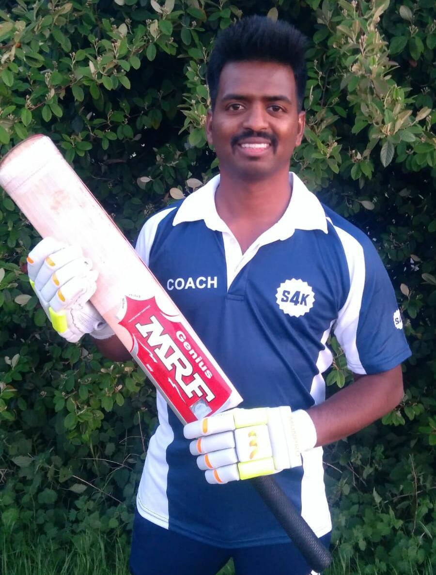 Kids Cricket Coach Manoj