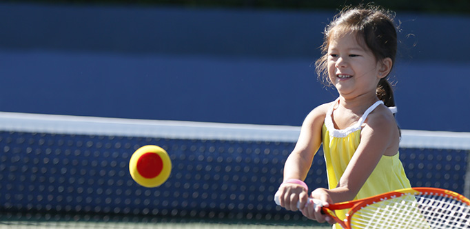 Kids Tennis Smile