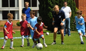 Childrens Football Academy Holiday Camp