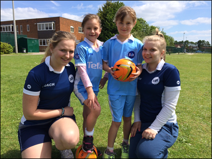Girls' Games – why football and rugby are not just sports for boys