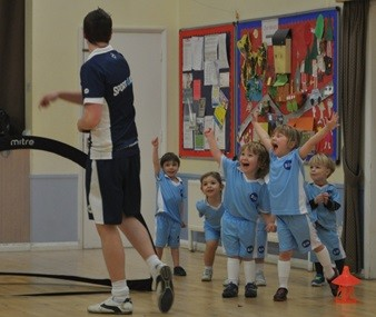 Toddler Football - Engagement to Passion
