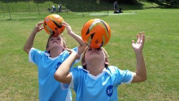 Teaching Children to Head the Football Safely