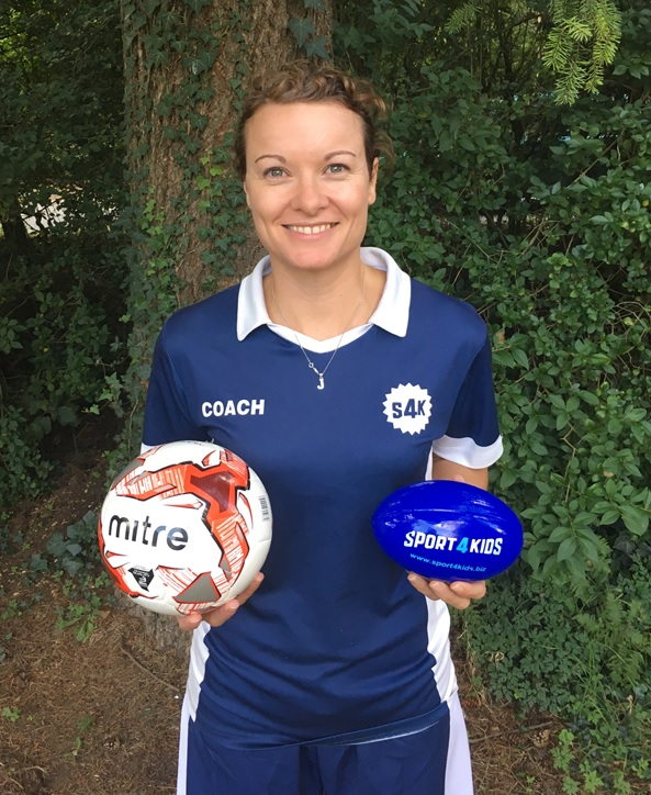 Kids Football Coach Jodie