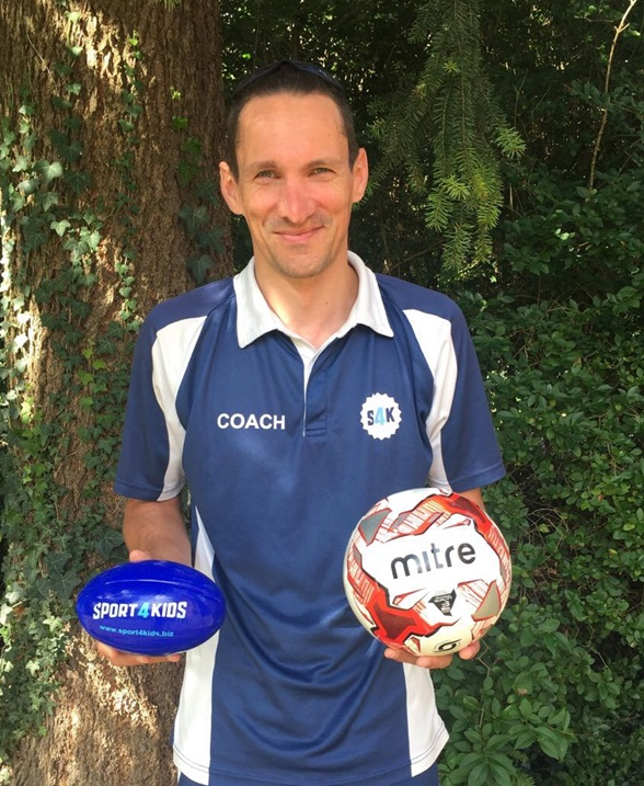 Kids Football Coach Paul