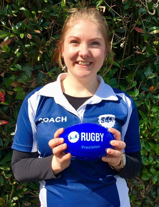 Kids Rugby Coach Rachael