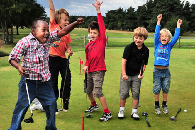 Kids Golf Birthday Partiy